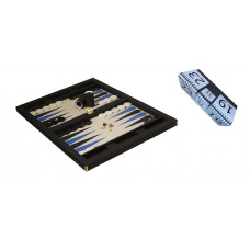 WSOB Komplett backgammon set BLBL 9033