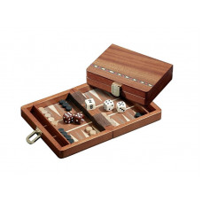 Backgammon komplett set Egina Travel XS