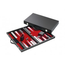 Backgammonbräde Classic i rött M