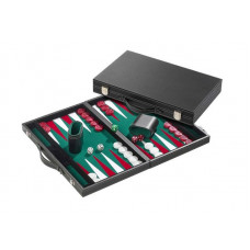 Backgammonbräde Classic i grönt M