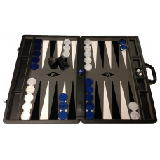 Backgammon board XXL Popular Gray 50 mm Stones