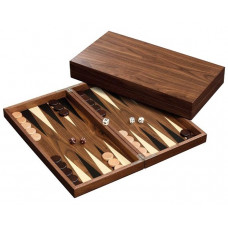 Backgammon set in Wood Skeloudi L