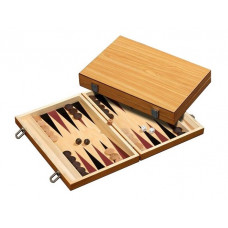 Backgammon set in Wood Skiathos M