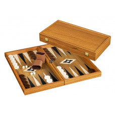 Backgammon set in Wood Lesvos L