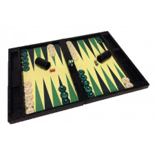 Backgammon Board Mr Stylish Snake in Black XL