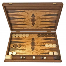 Backgammon set in Wood Akrathi L