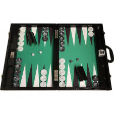Backgammon Board XL Wycliffe Brothers in Black