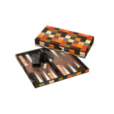 Backgammon set in Wood Fourni M