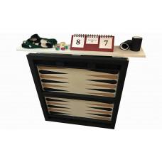Upphängt backgammon-klaffbord WSOB 9000