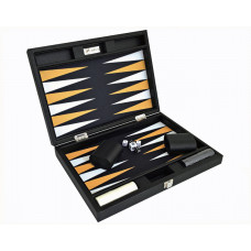 Backgammon-set Radical M i svart