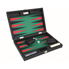 Backgammon-set Tradition M i grönt