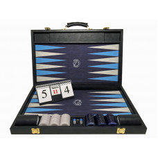 Backgammon Board M-gammon XL in Blue