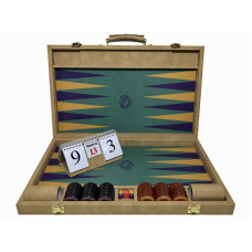 Backgammon Tournament M-gammon i beige