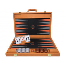Backgammon Board M-gammon XL in Orange