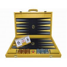 Backgammon Board M-gammon XL in Yellow