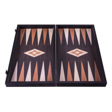 Backgammon komplett set i trä Limnos L