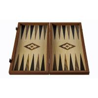 Backgammon komplett set i trä Patmos L