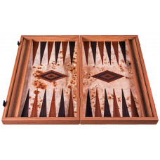 Backgammon Board in Wood Zefyros L