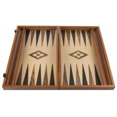 Backgammon komplett set i valnötsträ Apollon L
