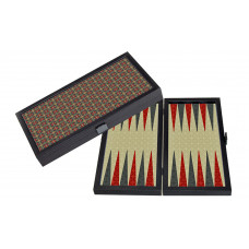 Backgammon komplett set i trä Kashani M
