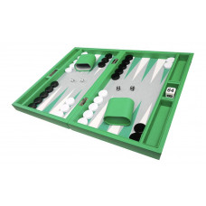 Silverman & Co Smooth  Backgammon in Green