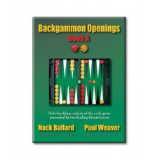 "Backgammon book 152 p ""Backgammon Openings"" Book A"