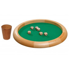 Dice Game Set Natur L