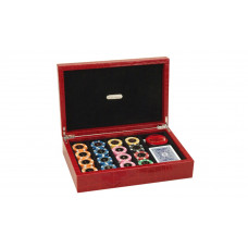 Complete Poker set Exclusive Genuine Leather