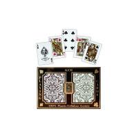KEM Playing Cards Poker size JACQUARD Regular Index