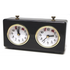 Chess clock BHB mechanical plastic in black