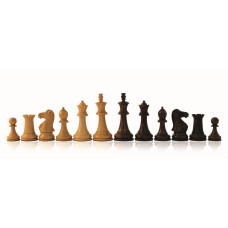 Wooden Chessmen Hand-carved Staunton KH 83 mm