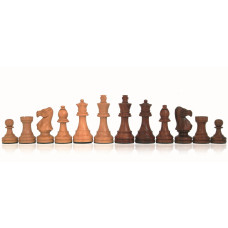 Wooden Chessmen Hand-carved Classic KH 100 mm