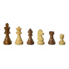 Wooden Chessmen hand-carved Arcadius KH 77 mm