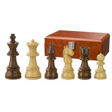 Wooden Chessmen hand-carved Theoder KH 95 mm