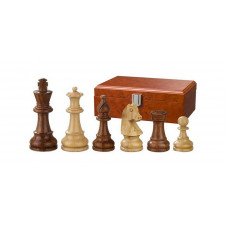 Wooden Chessmen Hand-carved Sigismund KH 70 mm