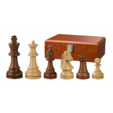 Wooden Chessmen Hand-carved Sigismund KH 83 mm