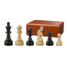 Wooden Chessmen Hand-carved Chlodewig KH 83 mm