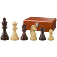 Schackpjäser Barbarossa handsnidade i trä 110 mm