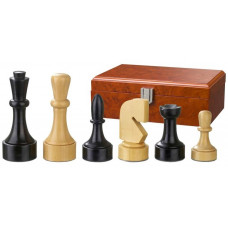 Wooden Chessmen 95 mm Modern Style Romulus