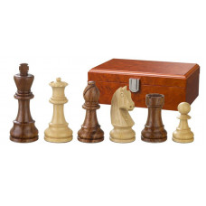 Wooden Chessmen Hand-carved Artus KH 83 mm