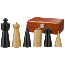 Wooden Chessmen 90 mm Modern Style Domitian