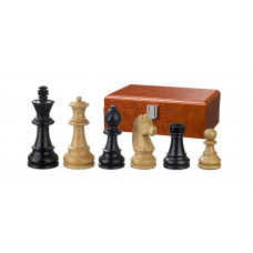 Wooden Chessmen Ludwig XIV hand-carved KH 76 mm