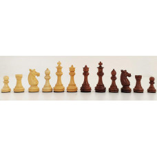 Wooden Chess Pieces Hand-carved Staunton Olimpico KH 85 mm