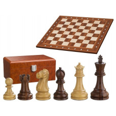 Chess complete set in wood Staunton