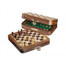 Chess complete set Mini Magnetic XS