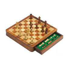 Chess complete set Drawer SM