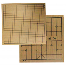 Go & Xiang-qi double-sided board