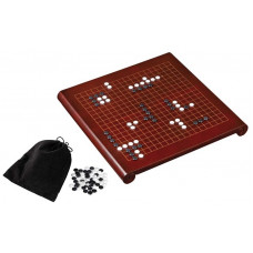 Gobang Complete set Elegant in red-brown