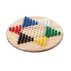 Kinaschack i trä Standard M for 2-6 spelare