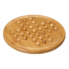 Solitaire game Bamboo M Wooden marbles